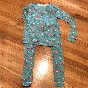 Girls Carter's long sleeve pajamas